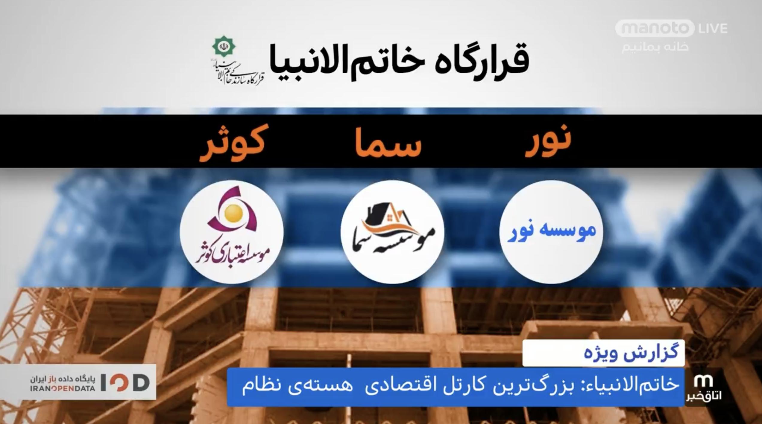 بازوی مزایده غول اقتصادی وابسته به علی خامنهای